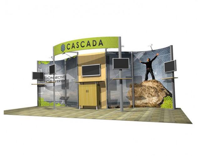 20' Cascada Hybrid Display