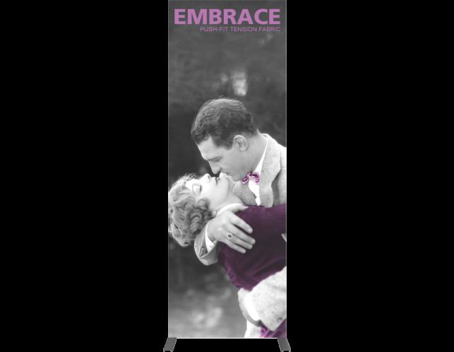 Embrace Fabric Display 1x3