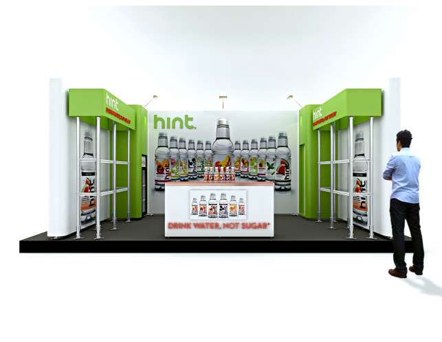Hint Retail Booth