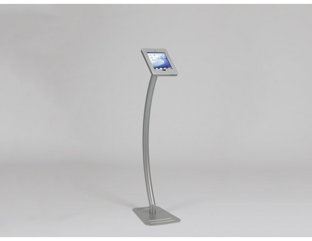 MOD-1336 iPad Kiosk-Silver
