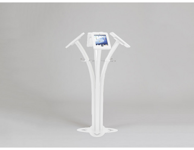 MOD-1338 iPad Kiosk-White
