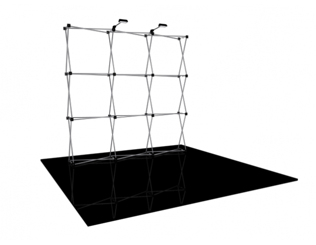 8' Straight EasyFabric Frame