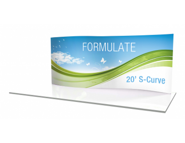 Replacement Graphics 20' Serpentine Formulate