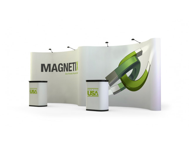 20' economy gullwing full graphic pop-up display