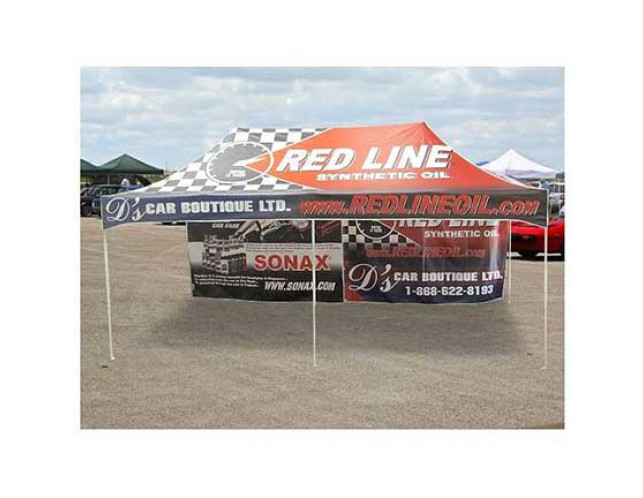10x10 Printed Full Backwall for 10x20 Event Tent