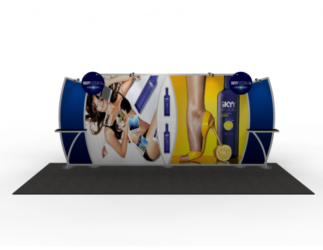 Mt. Columbia 10' x 20' Inline Display