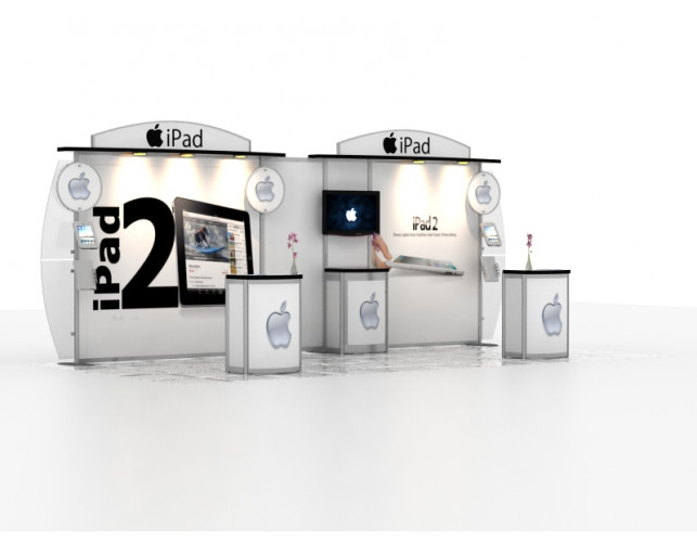 Pyramid Peak 10' x 20' Trade Show Exhibit