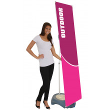 TSE Blizzard Outdoor Banner Stand