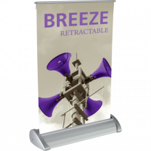 Breeze 1 Table Top Banner Stand