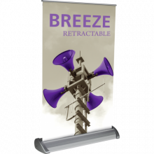 Breeze 2 Table Top Banner Stand