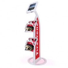 MOD-1357 iPad Kiosk with Literature Holders