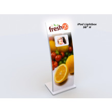 MOD-1361 iPad Kiosk/Lightbox-White