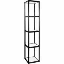 4-Shelf Collapsible Display Shelving