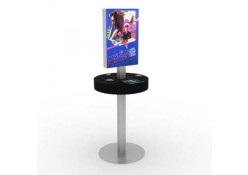 Backlit Graphic Cell Phone Charging Station