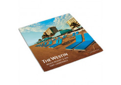 Make Cleaning a Breeze with our Full Color Promotional Cleaning Cloth