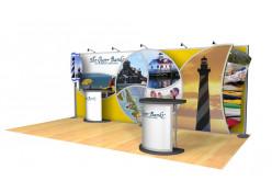 Huron Peak 10'x20' trade show exhibit