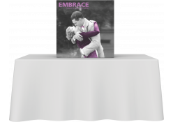 Embrace Fabric Tabletop Display 1x1