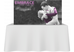 Embrace Fabric Tabletop Display 2x1