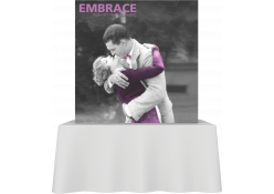 Embrace Fabric Tabletop Display 2x2