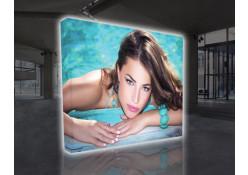 VBurst Flat 10' Backlit Pop-Up Display