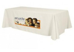 Dye Sublimation Front Full 8' Table Throw