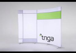 Concave Triga Wall