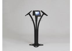 MOD-1338 iPad Kiosk-Black