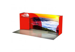 North Face Curved Panoramic Kit 10ft x 20ft
