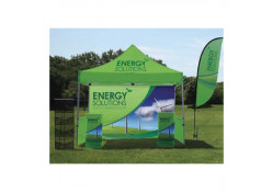 TSE 10' Outdoor Pop-Up Podium Package