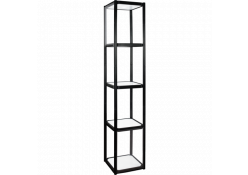 4-Shelf Collapsible Display Shelving