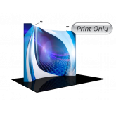 10' Curved EasyFabric - Print Only