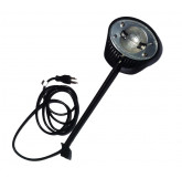 200 Watt Halogen Arm Light For Pop-Ups with hinged channel bars