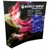 8' HopUp Backlit Booth