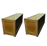 2 Large Shipping Crates (Included)