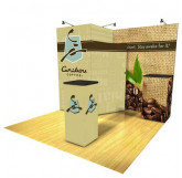 Caribou Coffee 10' Display with Storage view 2