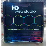 Backlit Curved Display Example 1