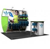 La Plata Peak 10' Inline Trade Show Display