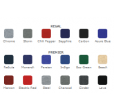 Color Options for Pop Up Fabric Booths