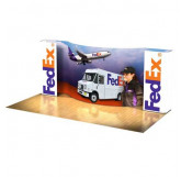 FedEx 10ft x 20ft Curved