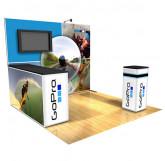GoPro 10'x10' exhibit starting at $8889