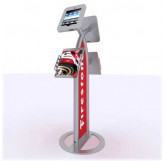 MOD-1355 iPad Kiosk with Literature Holders