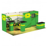 John Deere 20' Panoramic Display with Monitor and Storage $178991