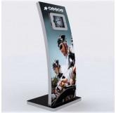 MOD-1363 iPad Kiosk and Lightbox-Black