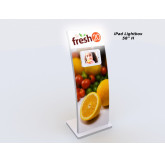 MOD-1361 iPad Kiosk/Lightbox-White