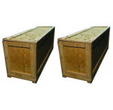 (2) Large Multi-Use Shipping Crates (included)