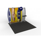Mt. Columbia 10' x 10' Inline Trade Show Display