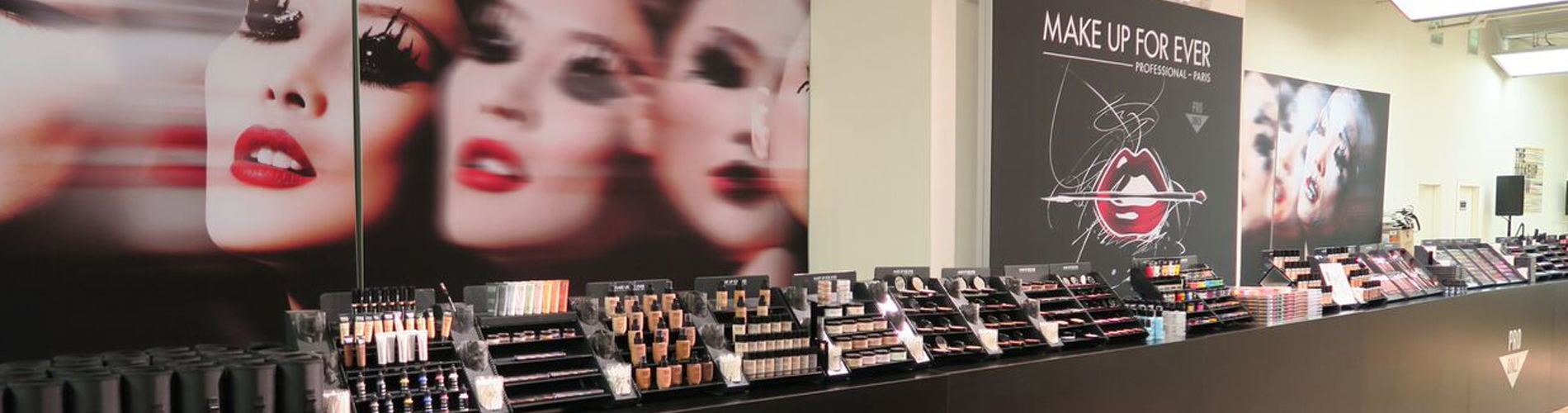 Make Up Forever Trade Show Booth